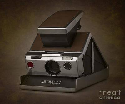 Photograph - Polaroid Sx-70 Camera by Art Whitton