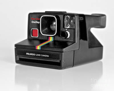 Photograph - Polaroid Time-zero One Step Color Version by Mark Miller
