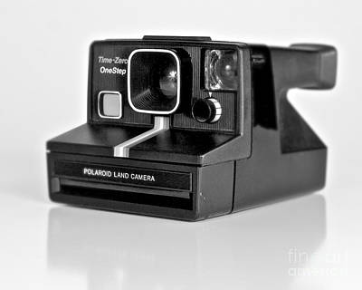 Photograph - Polaroid Time-zero One Step by Mark Miller