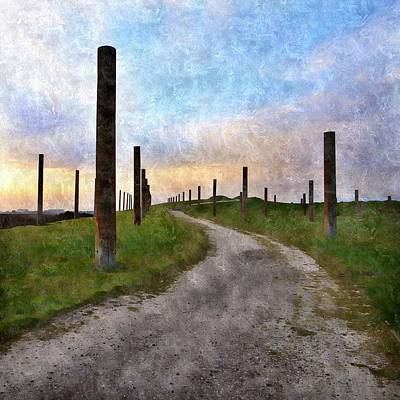 Pole Field Art Print