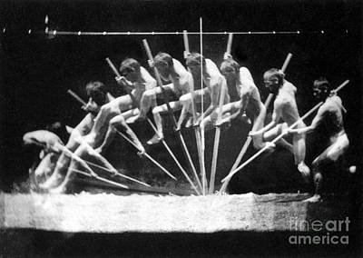 Pole Vault, 1885 Art Print by Science Source