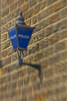 Photograph - Police Light by Nick Field