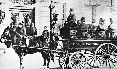 Photograph - Police Wagon by Granger