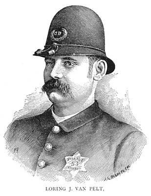 Policeman, 1887 Art Print