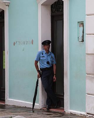Puerto Rico Photograph - Policia by Giovanni Arroyo