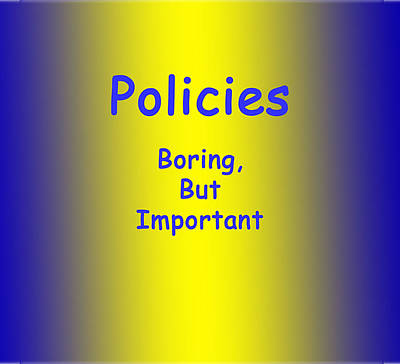 Jewelry - Policies by Dianne Brooks