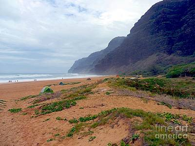 Photograph - Polihale State Park by Elizabeth Winter