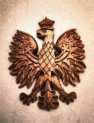 Mixed Media - Polish Eagle by Patricia Januszkiewicz