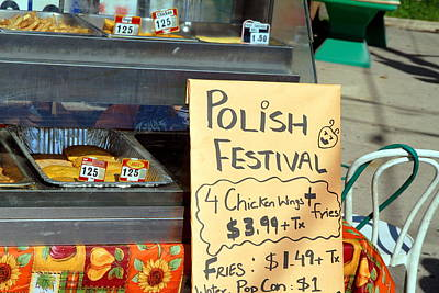 Photograph - Polish Food Street Stand by Valentino Visentini