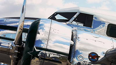 Lockheed Electra Photograph - Polished Electra by Howard Markel