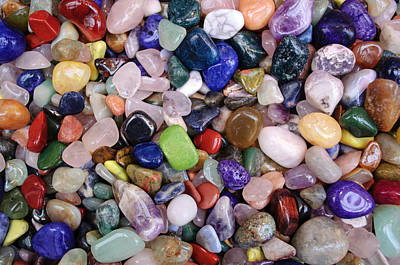 Photograph - Polished Gemstones by Tikvah's Hope