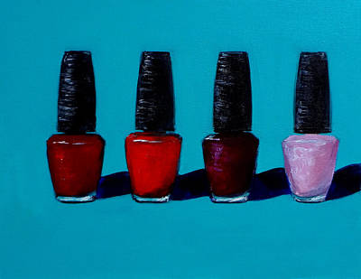 Polished Opi Nail Polish Art Print