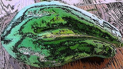 It Polish Photograph - Polished Papaya by Belinda Lee
