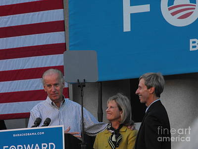 Joe Biden Photograph - Politicians by Lisa Gifford