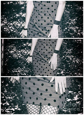 Photograph - Polka Dot Dress Panels by John Rizzuto