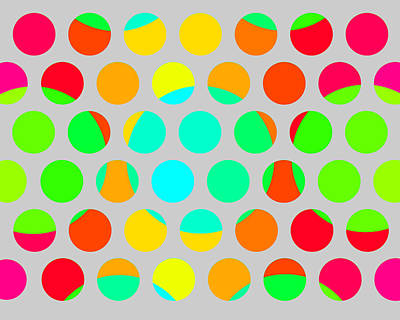 Painting - Polka Dot Polka Dots  C2014 by Paul Ashby