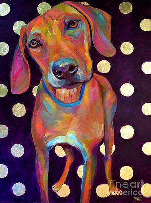 Painting - Polka Pooch by Robert Phelps