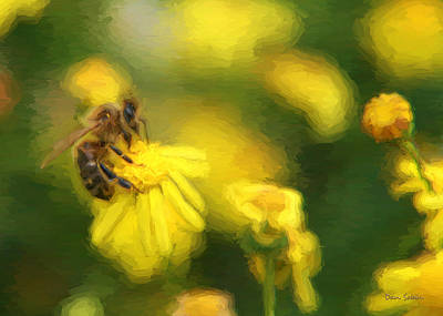 Photograph - Pollen Business by Dan Sabin