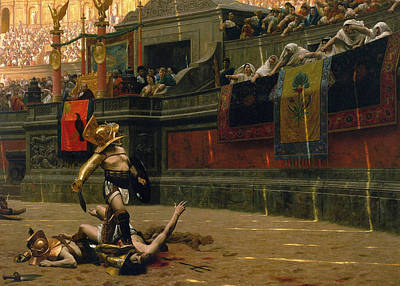 Fantasy Paintings - Pollice Verso by War Is Hell Store
