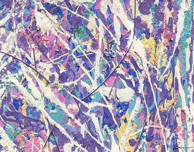 Painting - Pollock Painting by Marlene Rose Besso