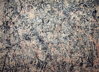 Painter Photograph - Pollock's Number 1 -- 1950 -- Lavender Mist by Cora Wandel