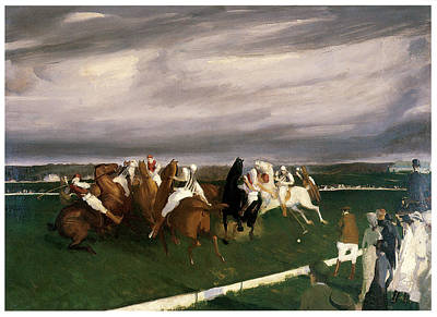 Polo Pony Painting - Polo At Lakewood by George Bellows