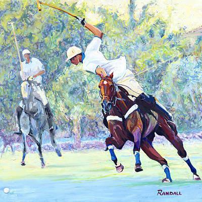Painting - Polo by David Randall