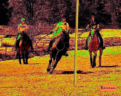 Photograph - Polo Game by Sadie Reneau