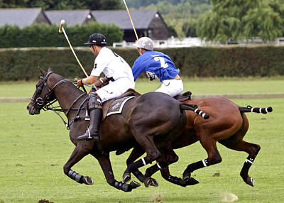 Polo Match In Argentina Art Print