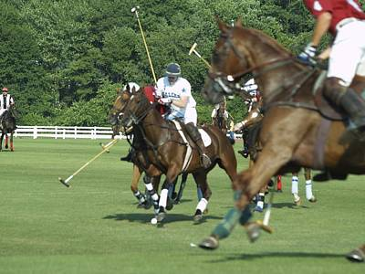 Photograph - Polo Match by Patricia McKay