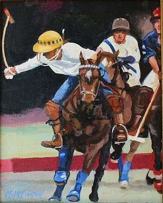 Painting - Polo by Michael McDougall