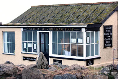 Photograph - Polpeor Cafe The Lizard Point by Terri Waters