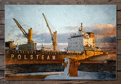 Photograph - Polsteam by WB Johnston