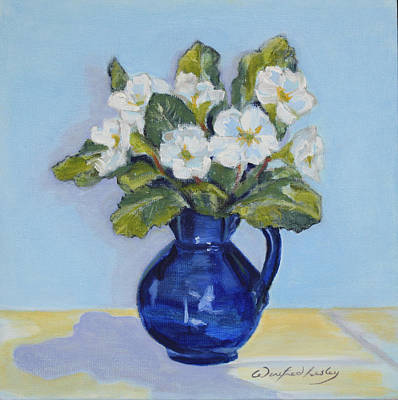 Painting - Polyanthus by Winifred Lesley