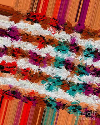 Digital Art - Polychromatic Postlude 13 by Lon Chaffin