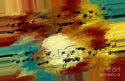 Polychromatic Postlude 3 Art Print