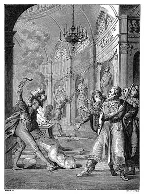 Polyeucte Martyrdom Print by Granger