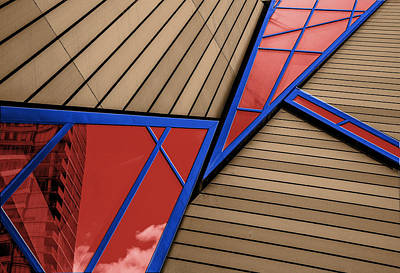 Photograph - Polygons by Paul Wear