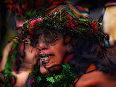Mind Blowing Photograph - Polynesian Dancer by Lori Seaman