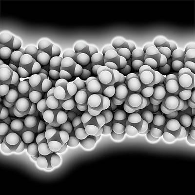 Polymer Photograph - Polypropylene Polymer Chain by Laguna Design