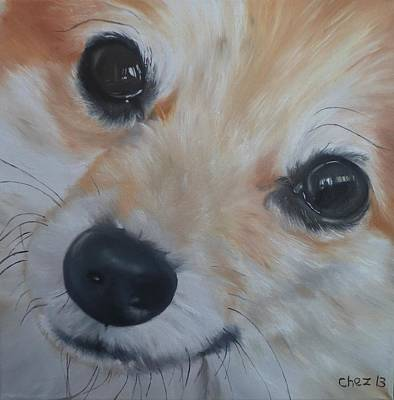Painting - PoM by Cherise Foster