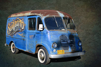 Photograph - Pomade Van by Bill Dutting