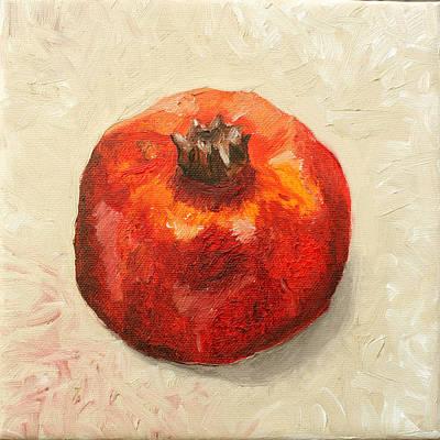 Painting - Pomegranate 1  by Sandra Yegiazaryan