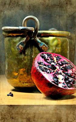 Photograph - Pomegranate by Diana Angstadt