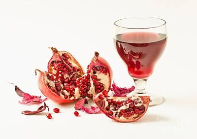 Pomegranate Juice Original by Sviatlana Kandybovich