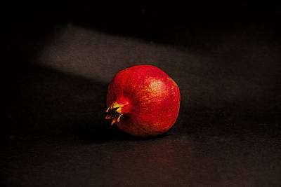Pomegranate Art Print by Peter Tellone