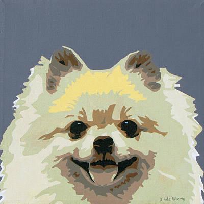 Pomeranian Painting - Pomeranian by Slade Roberts