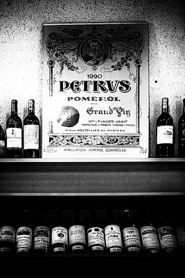 Wine Bottle Images Photograph - Pomerol Selection by Georgia Fowler