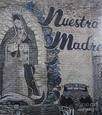 Pomona Art Walk Photograph - Pomona Art Walk - Nuestra Madre by Gregory Dyer