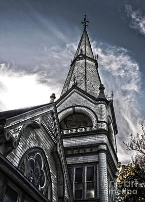 Photograph - Pomona Seventh Day Adventist Church by Gregory Dyer
